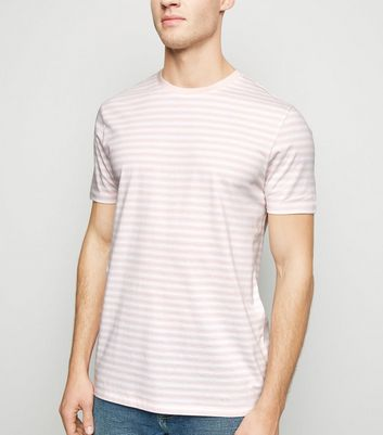 Pink Stripe Short Sleeve T-Shirt