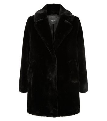 faux fur coat womens petite