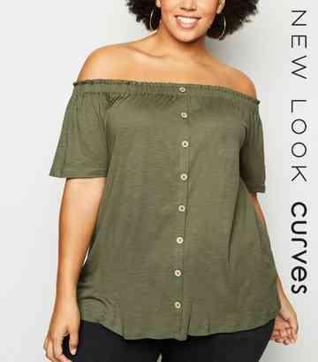af0c99fd Plus Size Tops | Plus Size Blouses & Shirts | New Look