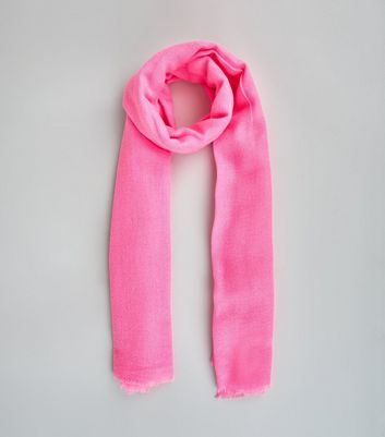 Mid Pink Neon Scarf