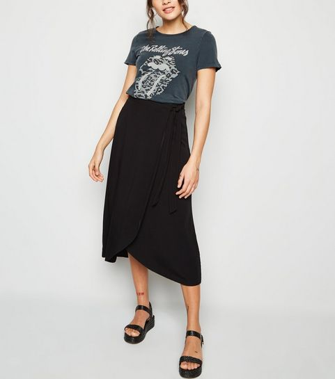 Black Wrap Midi Skirt · Black Wrap Midi Skirt ... c295e3599