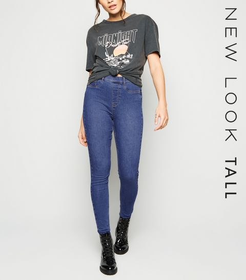 8998caef72805 ... Tall Blue Mid Wash 'Lift And Shape' Jeggings ...