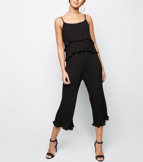Pantalons larges Femme   Pantalons évasés   courts  New Look a4e952a7da4