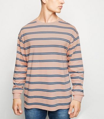 Pink Stripe Long Sleeve T-Shirt