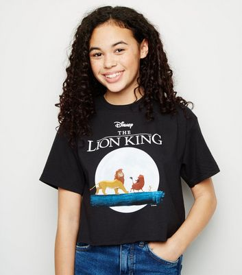 Girls Black Disney Lion King T-Shirt