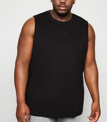 Plus Size Black Tank Top