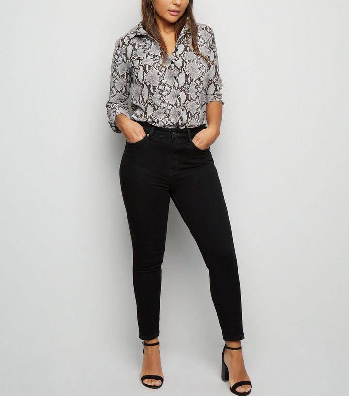 727db3a35 Petite Black 'Lift & Shape' Skinny Jeans | New Look