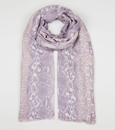 db02d9131a97 Pink Snake Print Scarf · Pink Snake Print Scarf ...
