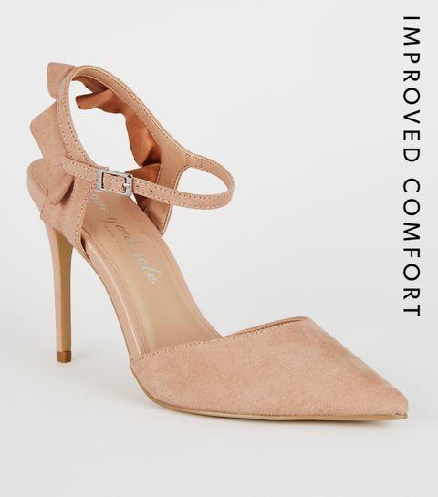 9fa792ba04 Nude Heels   Nude Wedges, Platform Heels & Strappy Heels   New Look