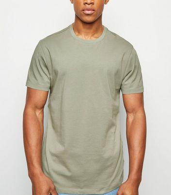 Olive Green Crew Neck T-Shirt