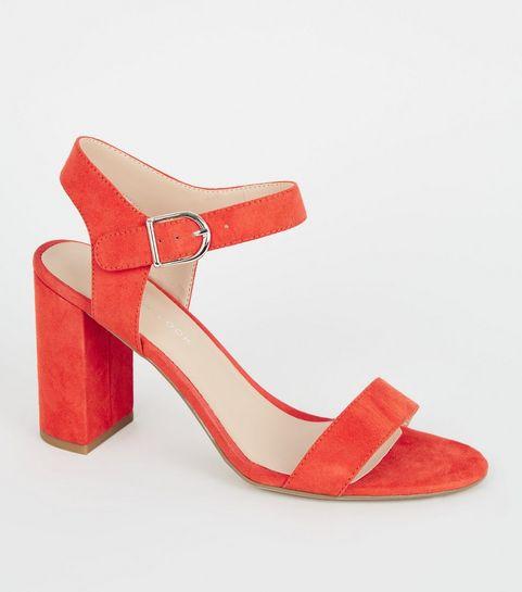 763a13e585f Orange Shoes | Orange Heels & Coral Shoes | New Look
