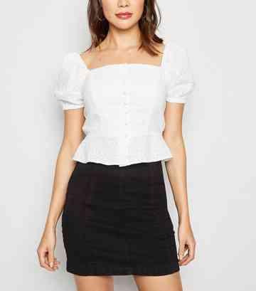 b7d01506d78621 Denim Skirts | Midi, White & Black Denim Skirts | New Look