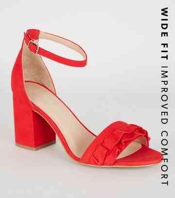 9aac886f3 Red Heels | Burgundy Heels & Maroon Heels | New Look