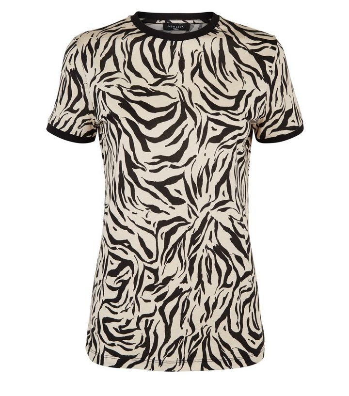 b5b7dc4334d8 ... Tall Brown Tiger Print Ringer T-Shirt. ×. ×. ×. Shop the look