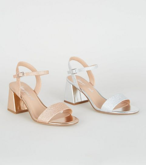 805eb4a83646d Heeled Sandals | Barely There & Strappy Heeled Sandals | New Look