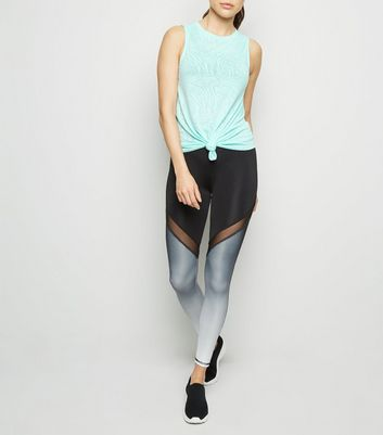 Black Ombré Sports Leggings