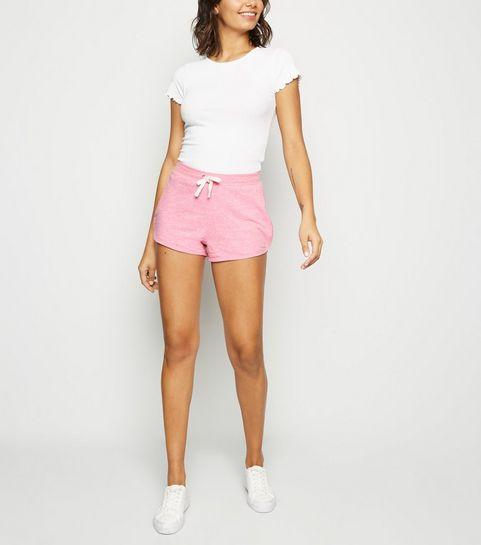 8ccba7ca896649 Pink Marl Shorts · Pink Marl Shorts ...
