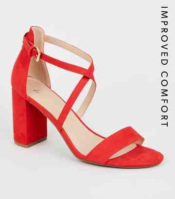 91b58a1c26 Red High Heel Shoes | Maroon & Burgundy High Heels | New Look