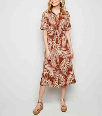 b99bfbaa6ff0 Midi Dresses   Knee Length Dresses   New Look