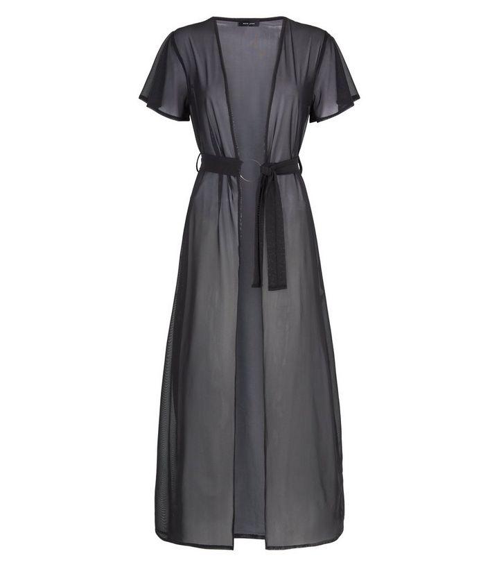 b274c9e1c1 ... Black Mesh Beach Kimono. ×. ×. ×. Shop the look