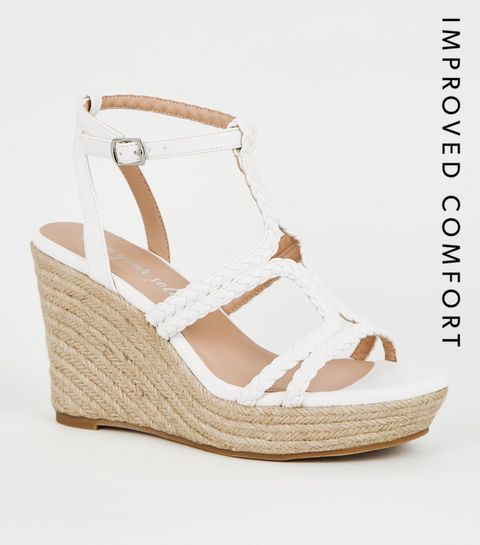 f0ba93f030 Women's Wedge Shoes | Espadrille Wedges & Flatforms | New Look
