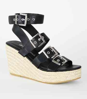 ca3ab7375a6c97 Sandales à plateforme Femme   Chaussures compensées   New Look