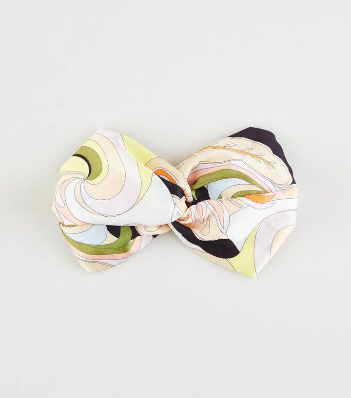 ade37c5e8b4298 Pale Pink Satin Swirl Wide Headband