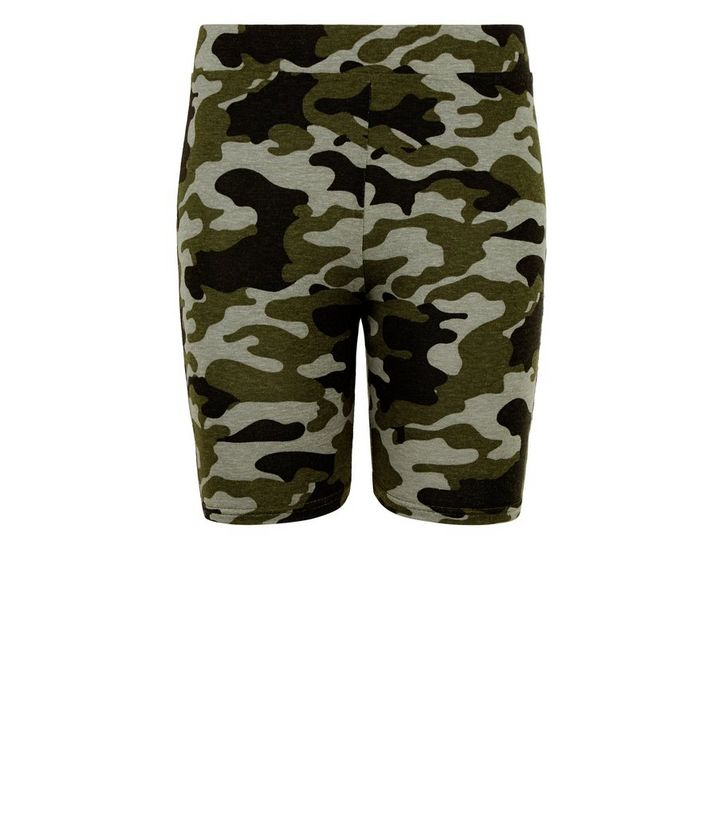 9ba0926291eb0 ... Girls Green Camo Cycling Shorts. ×. ×. ×. Shop the look