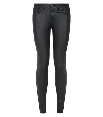 New Look Womens Coated Lift and Shape Skinny Jeans