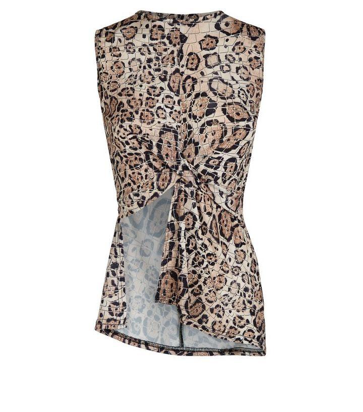 82ac87c7f9 ... Carpe Diem Brown Leopard Print Wrap Top. ×. ×. ×. Shop the look