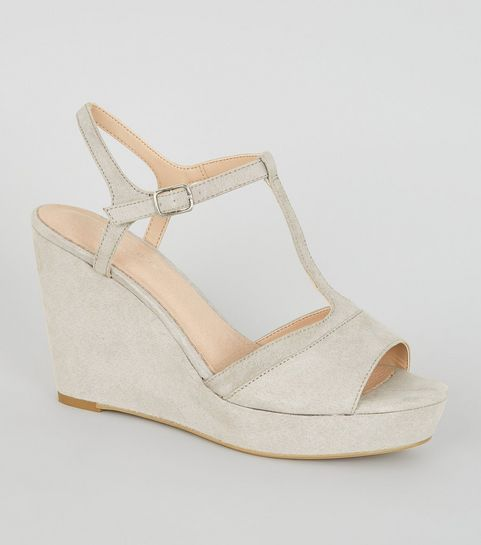 eb8c3fc9c64 Women's Wedge Shoes | Espadrille Wedges & Flatforms | New Look