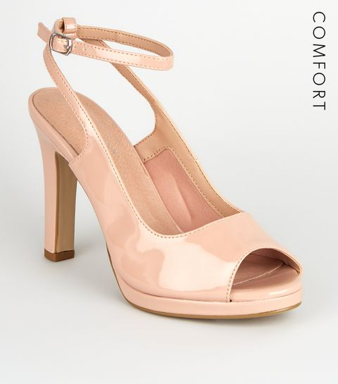 ba6daa73ce Nude Heels | Nude Wedges, Platform Heels & Strappy Heels | New Look
