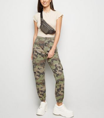 Green Camo Utility Trousers