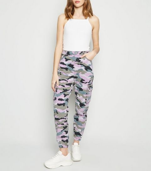 1bcfc100bc4 Pink Camo Utility Trousers · Pink Camo Utility Trousers ...