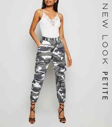 bd26cea0 Petite Trousers   Petite Culottes & Wide Leg Trousers   New Look