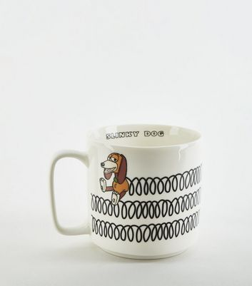 Off White Slinky Dog Toy Story Mug
