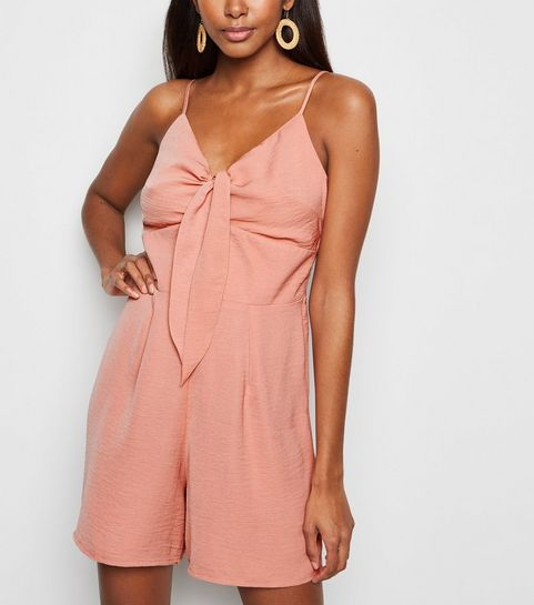 54985d82c344 Remove from Saved Items. €22.99 Quick view. Black Mid Pink. Pink  Herringbone Tie Front Playsuit · Pink Herringbone Tie Front Playsuit ...