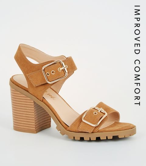 e4a91f397853 Chunky Heels | Chunky Heel Shoes & Sandals | New Look