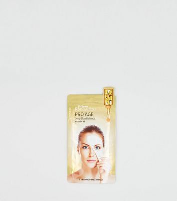 7th Heaven Multicoloured Pro Age Bamboo Sheet Mask