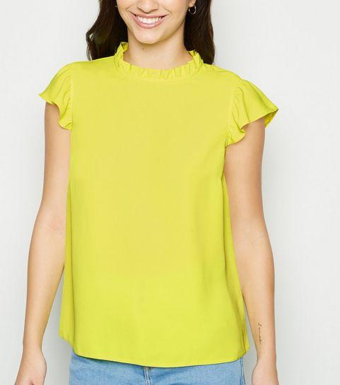 fb6ef3ce0 Green Tops | Khaki, Lime & Emerald Green Tops | New Look