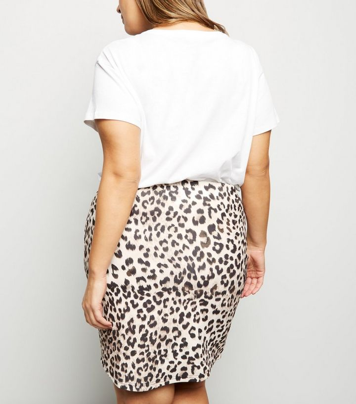 046bc86044084 ... Curves Brown Leopard Print Mini Skirt. ×. ×. ×. Shop the look