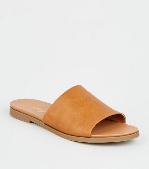 9fb49c6b68af4 Women's Sliders   Sliders Shoes & Slider Sandals   New Look