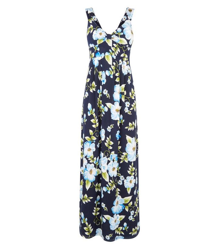 c7836ff400 ... Mela Blue Tropical Floral Maxi Dress. ×. ×. ×. Shop the look