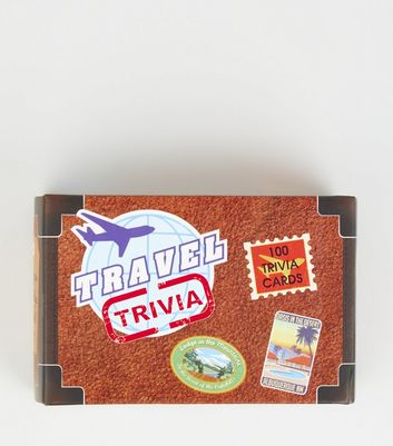 Travel Trivia Cards