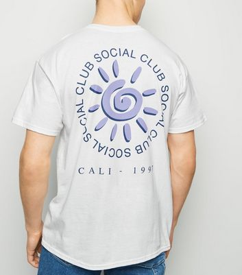 White Social Club Slogan T-Shirt