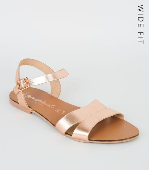 d48d2af9f Flat Sandals | Toe Post & Footbed Sandals | New Look