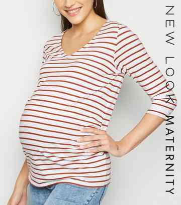 2d1f2ffcce574 Striped Tops | Women's Striped T-Shirts & Blouses | New Look