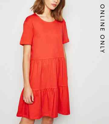 6c3a3b0908ed Red Dresses   Long Red, Maroon & Burgundy Dresses   New Look