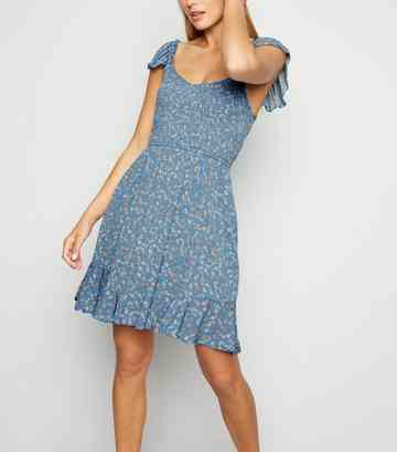 003ee631 Blue Dresses | Royal Blue & Baby Blue Dresses | New Look