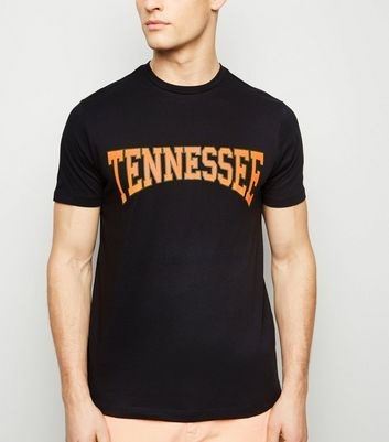 Black Tennessee Slogan T-Shirt